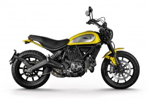 Rent a Scrambler iCon DUCATI for a day in Cannes