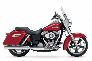 rent a DYNA switchback HARLEY DAVIDSON in Cannes